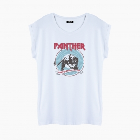 PANTHER T-Shirt relaxed fit woman