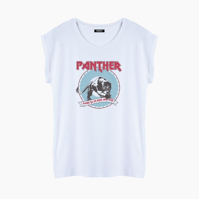 Camiseta PANTHER fit mujer
