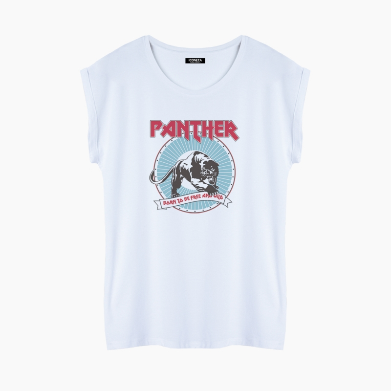 PANTHER T-Shirt fit woman