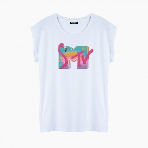 MTV 80`S T-Shirt relaxed fit woman