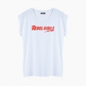 Camiseta REBEL GIRLS relaxed fit mujer