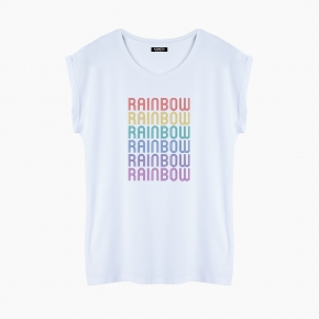 RAINBOW T-Shirt relaxed fit woman