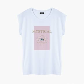 Camiseta MYSTICAL relaxed fit mujer