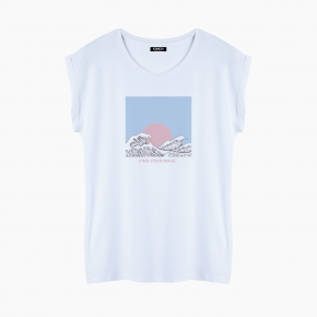 Camiseta WAVE relaxed fit mujer