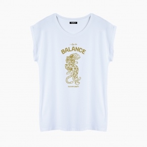 Camiseta BALANCE relaxed fit mujer
