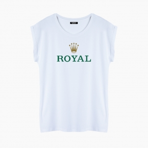 Camiseta ROYAL relaxed fit mujer