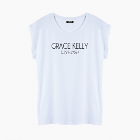 Camiseta GRACE KELLY relaxed fit mujer