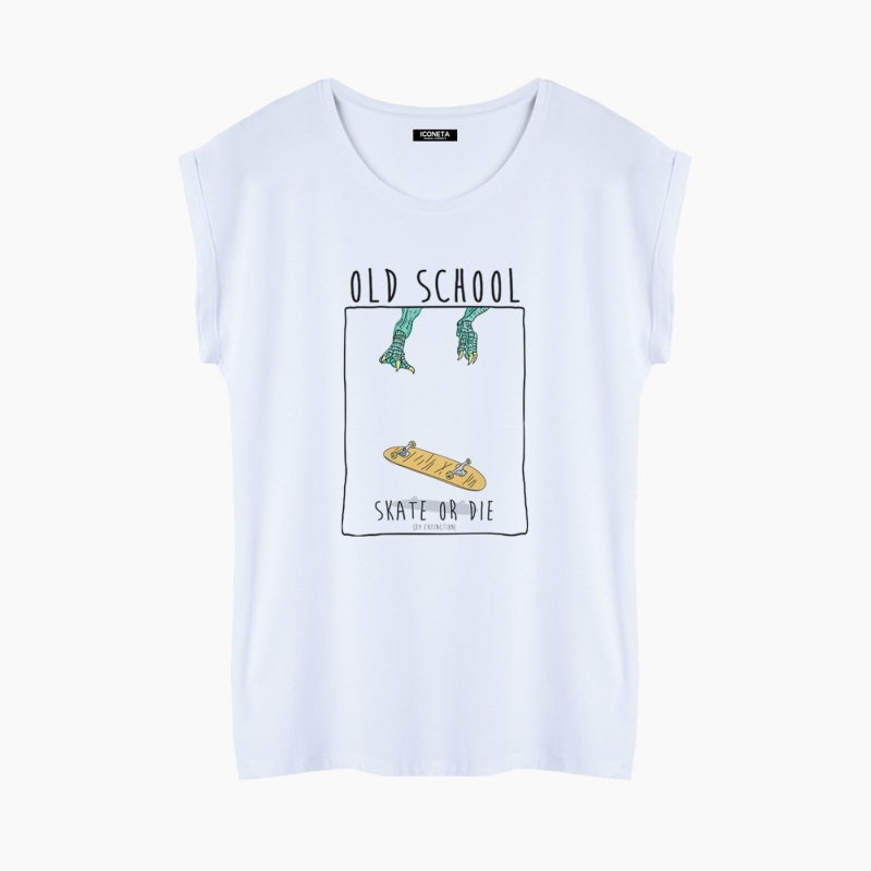 OLD SCHOOL T-Shirt relaxed fit woman