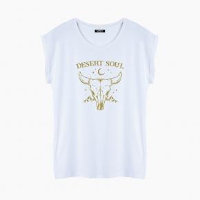 Camiseta DESERT SOUL relaxed fit mujer