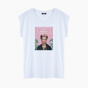 HELLO FRIDA-Y T-Shirt relaxed fit woman