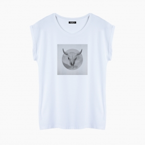 OLD SKULL T-Shirt relaxed fit woman
