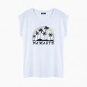 Camiseta NAMASTE relaxed fit mujer
