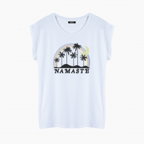 NAMASTE T-Shirt relaxed fit woman