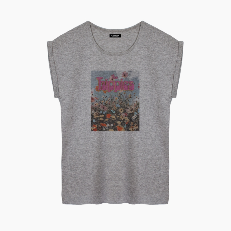 Camiseta THE HIPPIES relaxed fit mujer