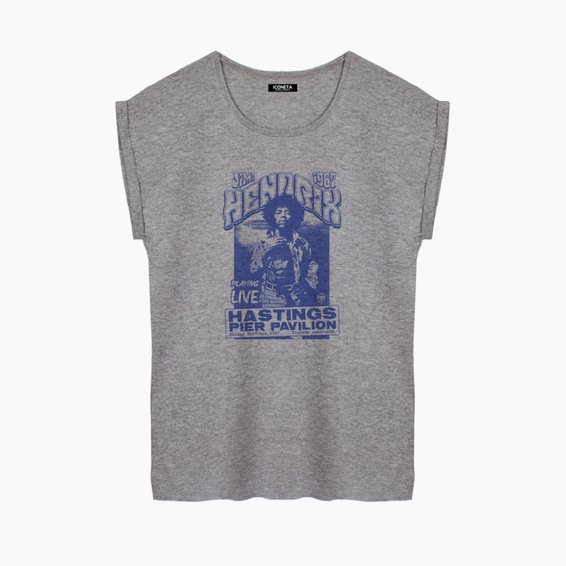 Camiseta FOREVER HENDRIX relaxed fit mujer