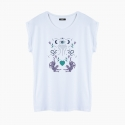 Camiseta LOVE TIGERS relaxed fit mujer