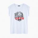 Camiseta KE-ZO SKULL relaxed fit mujer