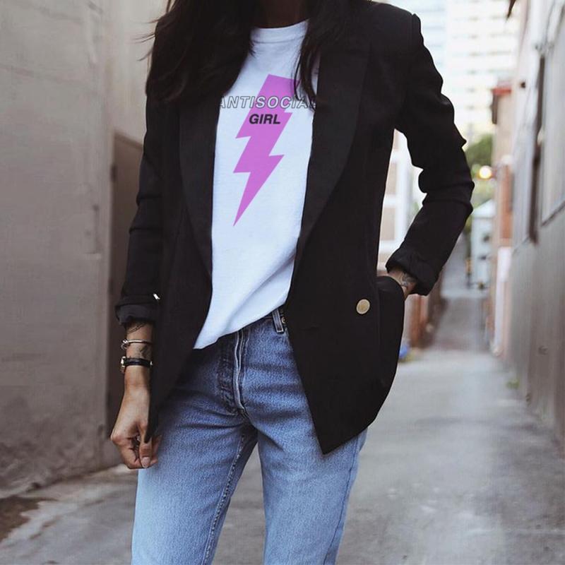 ANTISOCIAL GIRL unisex T-Shirt