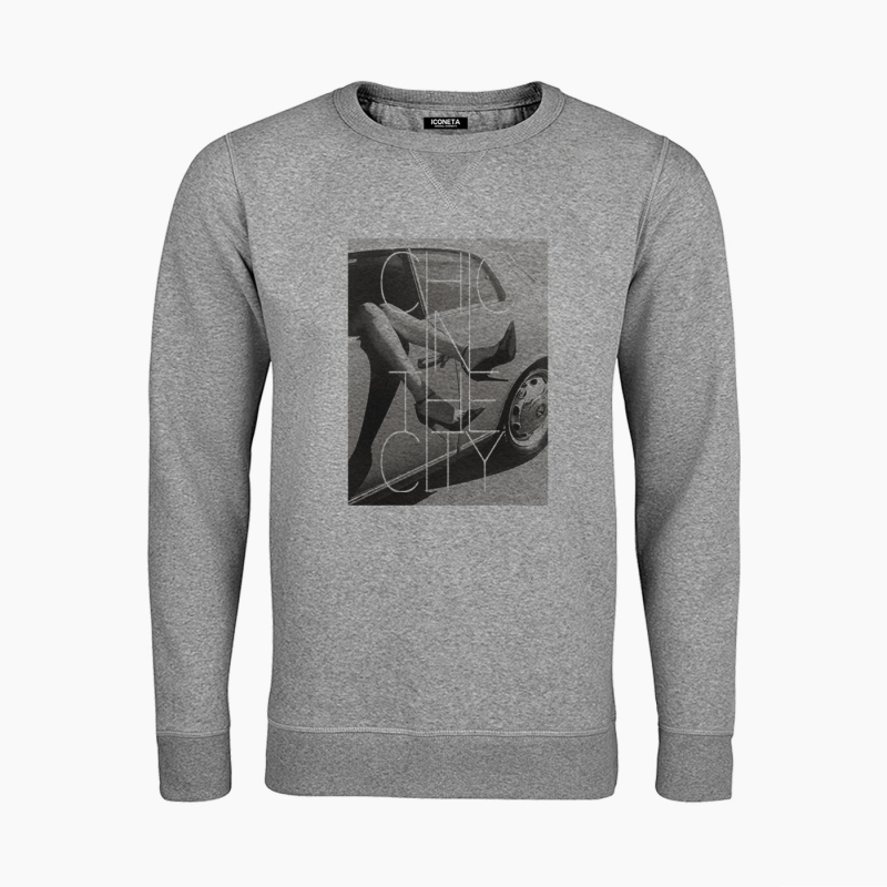 Sudadera CHIC IN THE CITY unisex