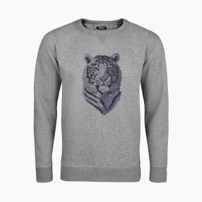 SHINING TIGER unisex Sweatshirt
