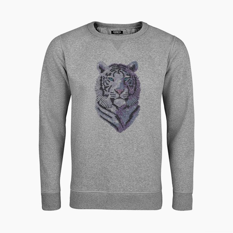 SHINING TIGER unisex Sweatshirt