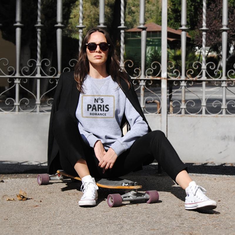 Sudadera Nº 5 PARIS unisex