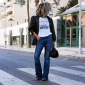 Camiseta RIDERCHIC relaxed fit mujer