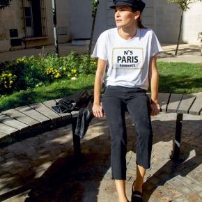 Camiseta Nº 5 PARIS unisex