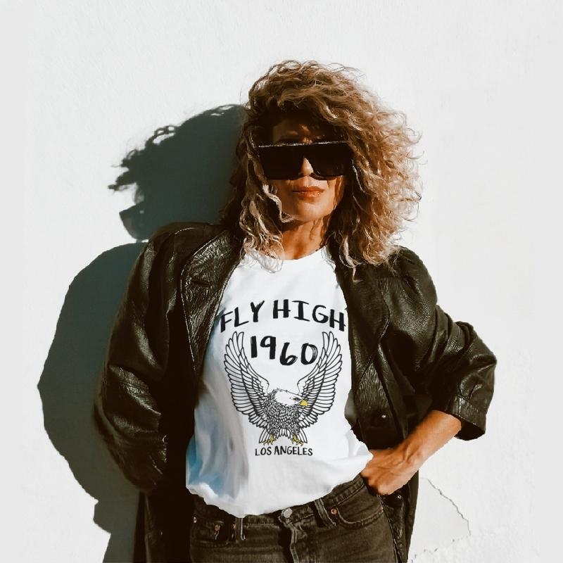 Camiseta FLY HIGH unisex