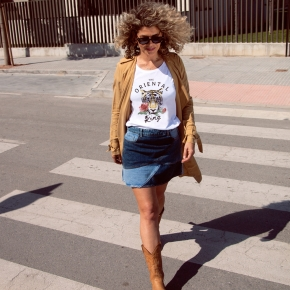 Camiseta THE ORIENTAL KING relaxed fit mujer