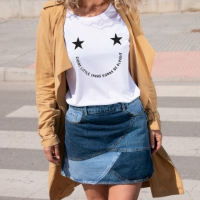SMILING T-Shirt relaxed fit woman