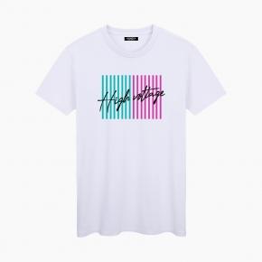 Camiseta HIGH VOLTAGE unisex