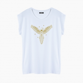 Camiseta MYSTICAL EAGLE relaxed fit mujer
