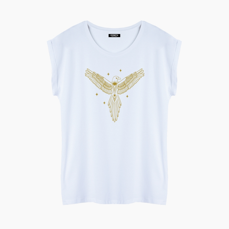MYSTICAL EAGLE T-Shirt relaxed fit woman