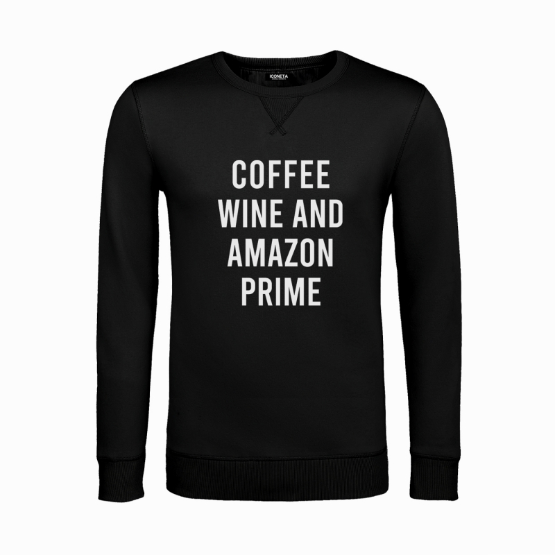 COFFE & WINE unisex Sweatshirt